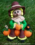 Scarecrow in the Pumpkin Patch: Available by ohara916