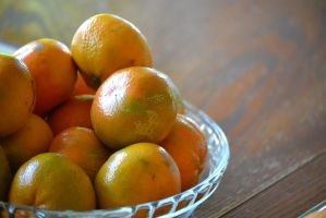 mandarin oranges by chanmanthechinaman