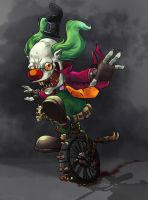 Pitarro the Clown, Host of Mammon. by g138