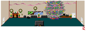 The Hangout House During X-Mas by tombstalker
