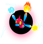 Porygon Z Tri Attack by MasterImpsy
