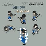 Silver Bamboo Sprite Sheet by silverbamboo