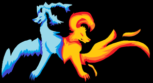 Elemental dogs by prussiawashere999