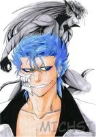 Bleach-Grimmjow by Michsi