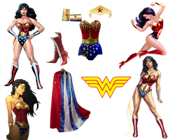 Wonder Woman PNG by CrimzonStar
