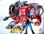 Zoids commission fulfilled by IggySeymour