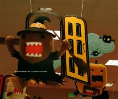 Domo-kun Halloween 006. by GermanCityGirl