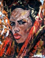 Grace Jones 3 by amoxes