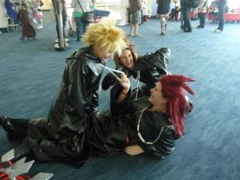 Goldcoast Supanova 2012 - Akuroku by MrOrangeCreamsicles