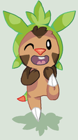Chespin Page Thing by trekToons