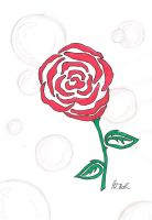 Just a Rose... by AlyssasART
