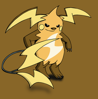 Mega Raichu by pokedragonS8
