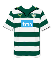Sporting Lisboa Home shirt by qxo