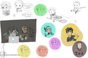 Sherlock_sketchdump__by__Juliya-Kistenjova by Julia-Kisteneva