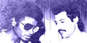 Michael and Freddie by magoborg