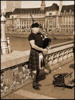 Old Bagpipe by Olorin89