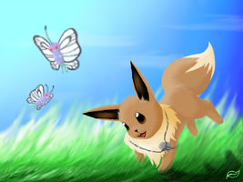 Eevee by Leafrabbit