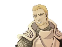 Dragon Age Alistair by macawnivore
