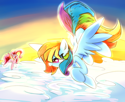 Above the clouds by Madacon