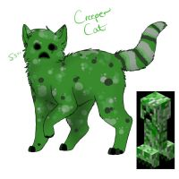 Creeper Cat by kyuubineko95