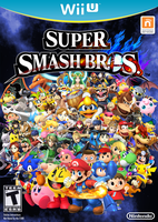 SSB4 Wii U Cover by 1992zepeda