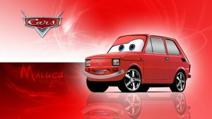 Cars - Maluch (Fiat 126p) Wallpaper by GregKmk