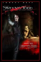 Sweeney Todd Movie Poster I by Rickbw1