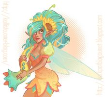 Summer Fairy +collab+ by JackPot-84
