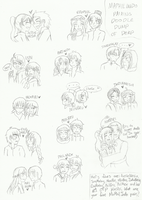 MaPhilIndo Pairing Doodle Dump by melonstyle
