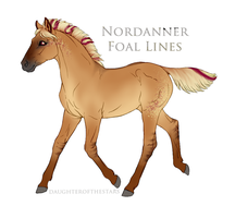 8828 FOAL DESIGN GS She's not You by GoldenStables
