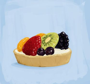 Fruit Tart by Chez-Mouse