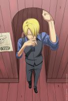 ONE PIECE: Sanji by Kimadzaki