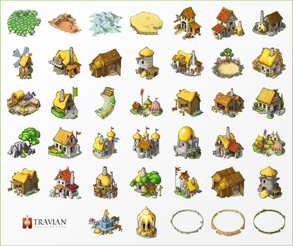 New travian T4 buildings by travian-browsergame