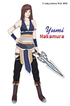 OC Yumi Nakamura [my style] by ladylucienne