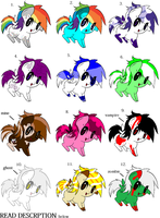 pegasus adoptables 2 -OPEN- by GwenCupcakes