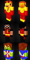 Young Justice Skins :D by thatsdandy