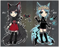 Grunge Ne-co Adopts [closed] by nerinrin