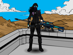 Cpl. Raven (Widescreen Version) by BryanTheBomb