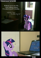 Twilight Sparkle: A Reason... by Paris7500