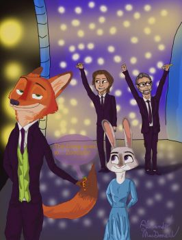 Congratulations Zootopia for the Oscar! by 3AaM