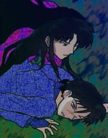 Possession - Naraku and Miroku by Arigatoumina