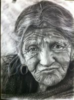 charcoal painting by chipipoy
