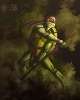 Day 38: Donatello by cynthiafranca