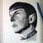 Leonard Nimoy Drawing by LethalChris