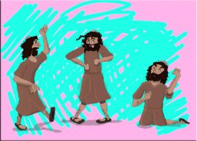 Boogie Down, Jesus by Peter-the-Fisherman