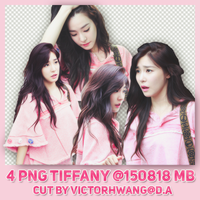 PACK PNG TIFFANY @150818 WEEKLY IDOL by victorhwang