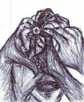 Fingers and Eye by aPhysicist