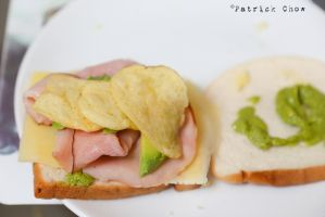 Ham n cheese wich by patchow