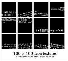 100x100 Icon text textures - 2 by DasfnBa
