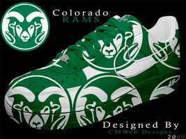 NEW: Colorado Rams Shoe Design by CMWebStudios
